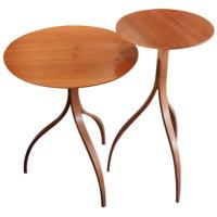 Sculptural side tables at 1stdibs