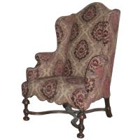English early 18th century William and Mary Wingback Chair ...