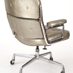 Herman Miller Leather Chair White Chairs For Weddings Silver Eames Time Life Office