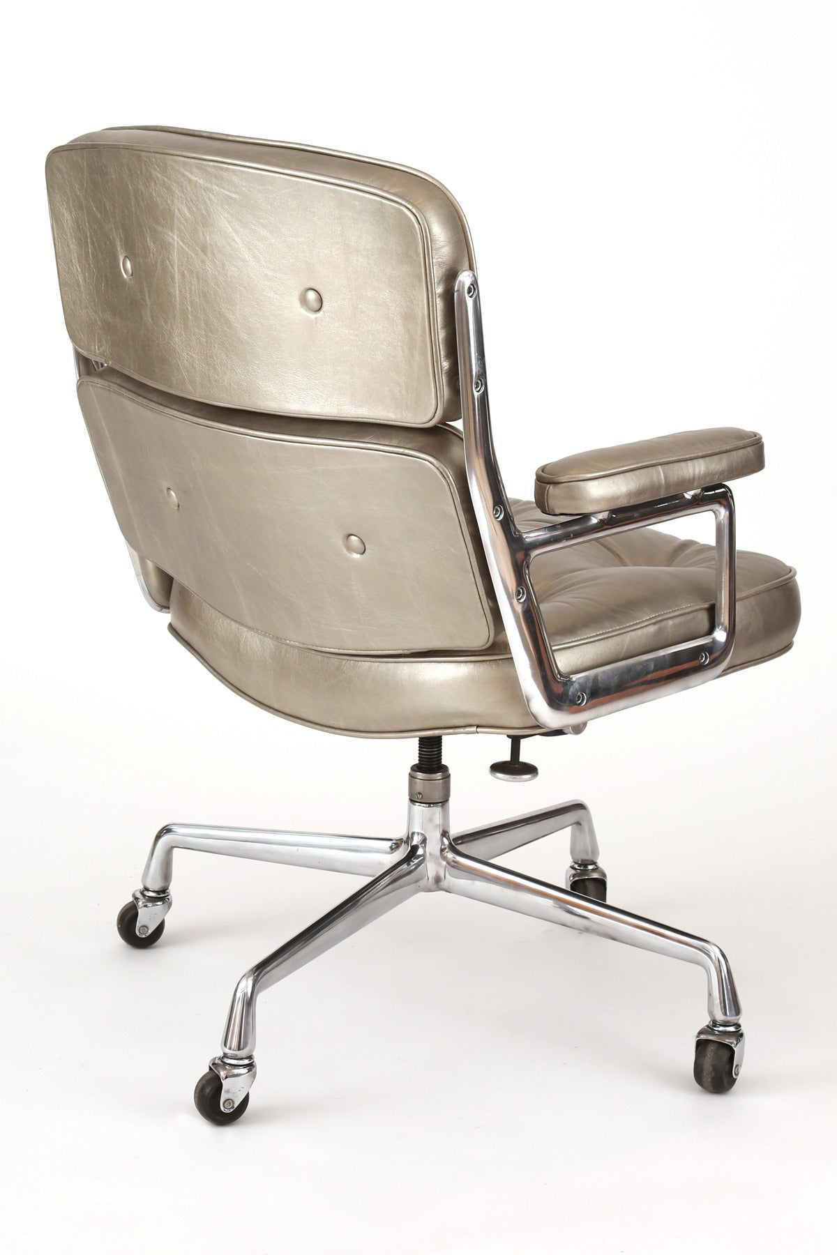 Herman Miller Eames Office Chair Silver Leather Eames For Herman Miller Time Life Office