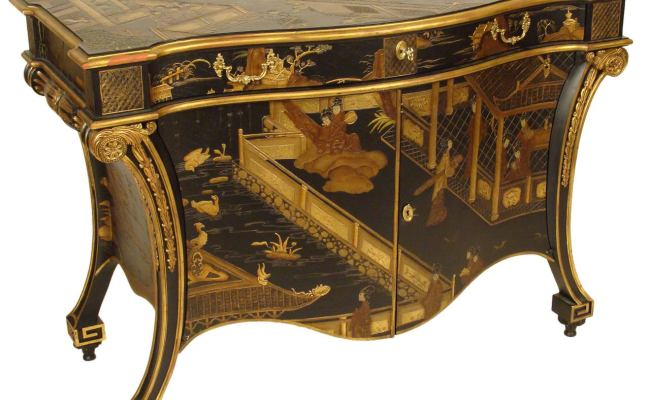 Baker Stately Homes Chinoiserie Commode At 1stdibs
