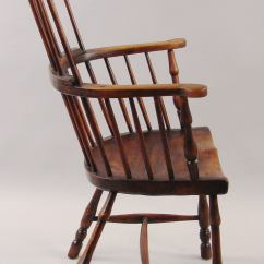 Comb Back Windsor Chair Covers Vaughan English Elm And Hickory Armchair At 1stdibs