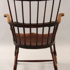 Comb Back Windsor Chair Club Covers English Elm And Hickory Armchair At 1stdibs