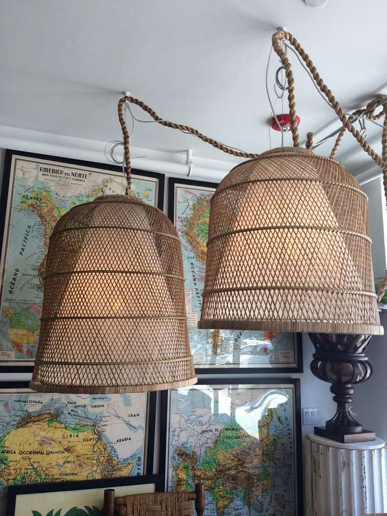 Rope Pendant Light Cord