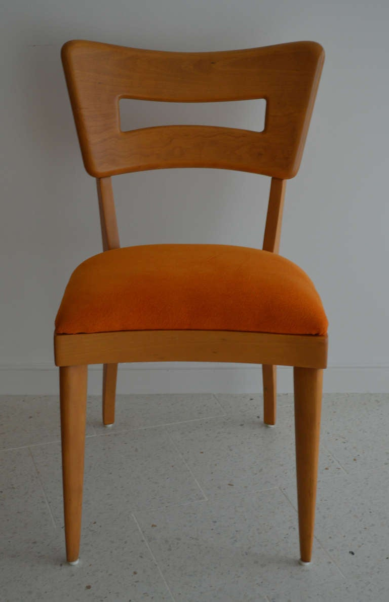 heywood wakefield dogbone chairs stool chair ikea *sale* wishbone dining table with 8 for sale at 1stdibs