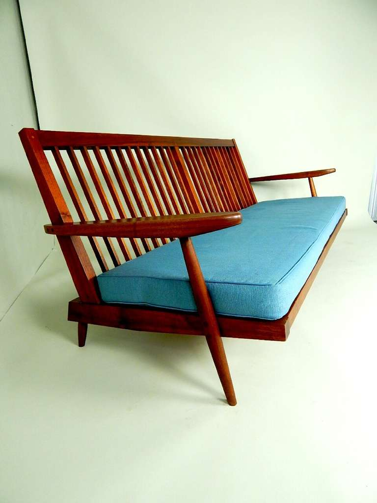 herman miller chair sizes covers wedding rustic spindle cushion sofa by george nakashima for sale at 1stdibs