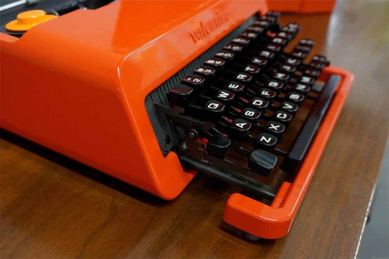 Valentine Typewriter By Ettore Sottsass At 1stdibs