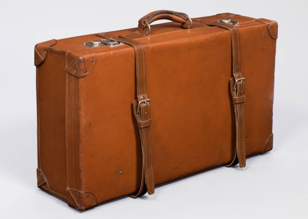 French Vintage Leather Suitcase 1stdibs