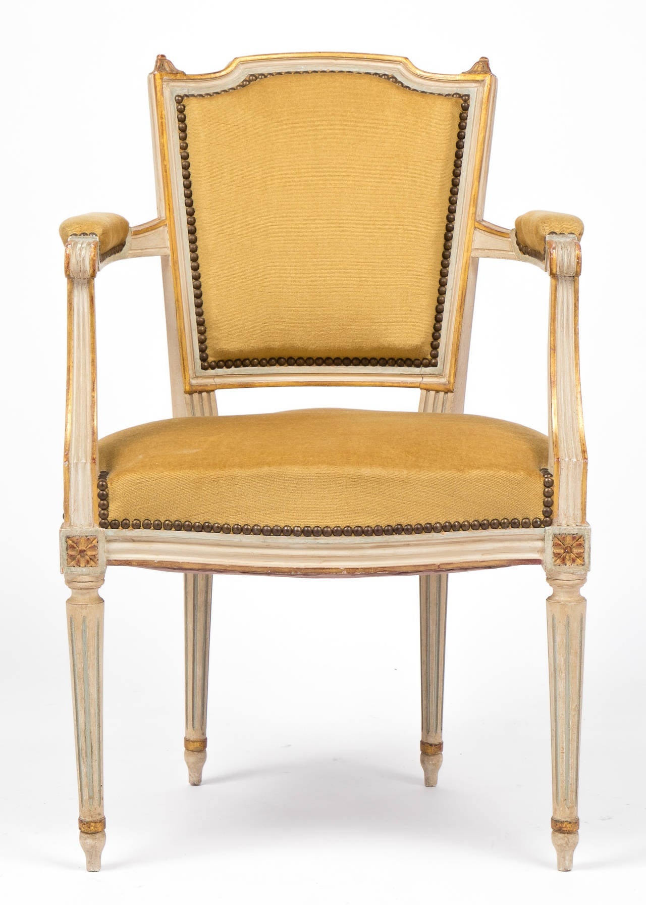 louis dining chairs rocking for nursing french xvi set of six at 1stdibs