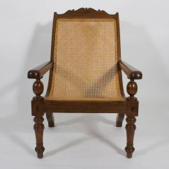 British Colonial Chair Tech Furniture Pair Of Planters Or Plantation Chairs At