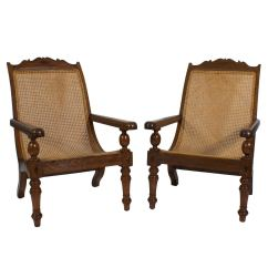British Colonial Chair Wwe Tables Ladders And Chairs Toys Pair Of Planters Or Plantation At
