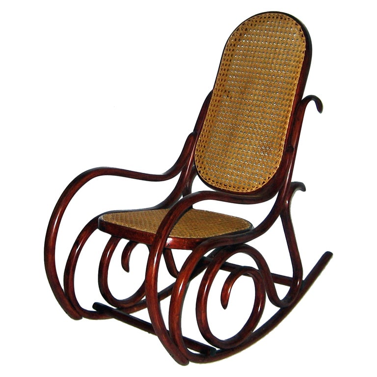 Thonet Childrens Rocking Chair at 1stdibs