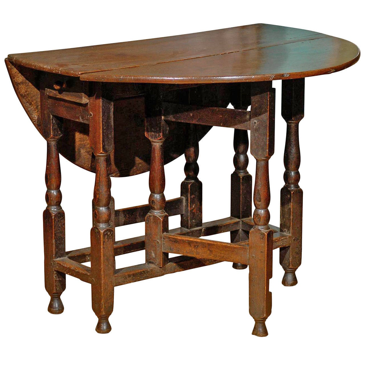 gateleg table with chairs ikea poang rocking chair english 19th century at 1stdibs
