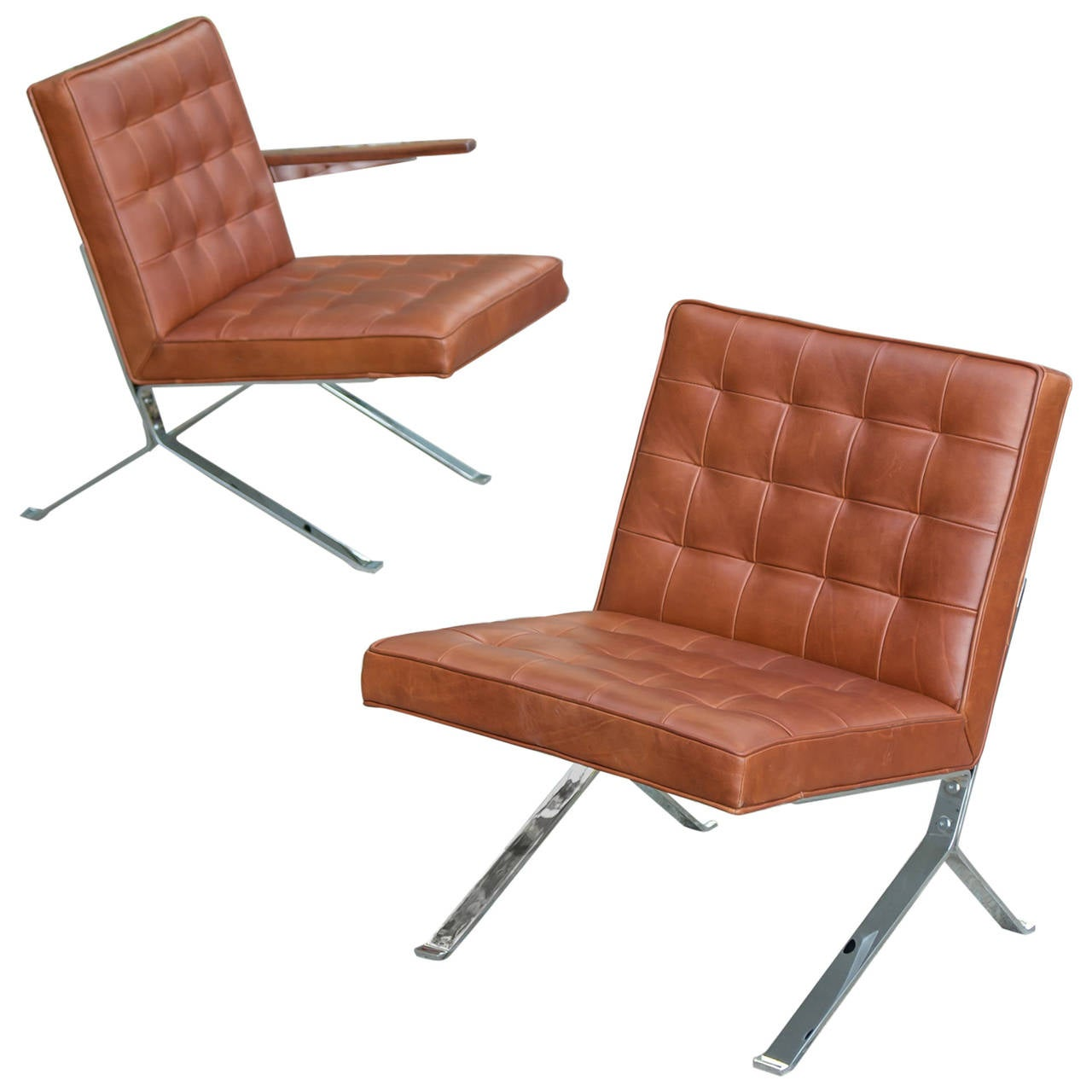 american leather swing chair covers cheap nz vintage lounge chairs by the u s royal metal