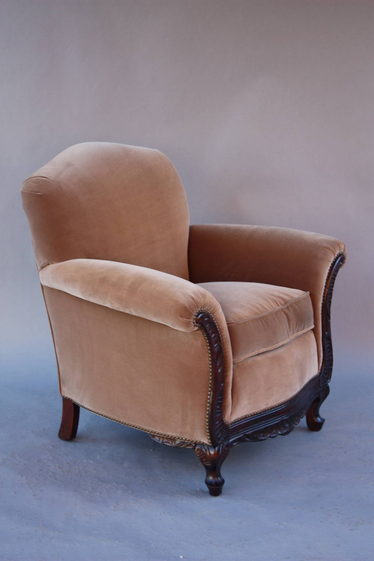 Small Arm Chairs Elegant Small Scale 1920s Armchair At 1stdibs