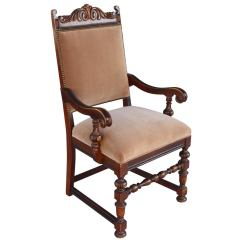 Arm Chairs For Sale Traditional Office Chair Spanish Revival Armchair At 1stdibs