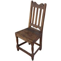 1800's Rustic Spanish Chair at 1stdibs