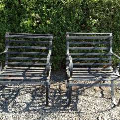 Iron Outdoor Chairs Chair Graphic Design Pair Of Heavy Wrought Garden Lounge 2 At 1stdibs This Is The Second Two Pairs Handmade That