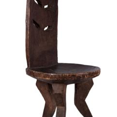 African Birthing Chair High End Wooden Folding Chairs Ethiopian For Sale At 1stdibs