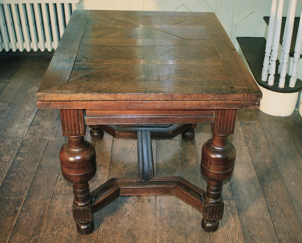 regency mahogany sofa table american furniture warehouse sectional sofas english oak draw-leaf style of james i at 1stdibs
