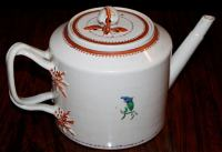 Chinese Export Porcelain 'Pineberry' Finial Teapot For ...