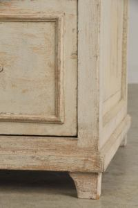 Painted display cabinet from France c. 1890 at 1stdibs