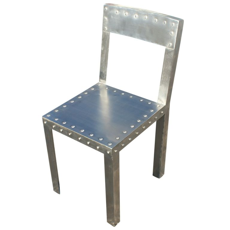 industrial dining chair cover elegance omaha eight metal chairs at 1stdibs american for sale