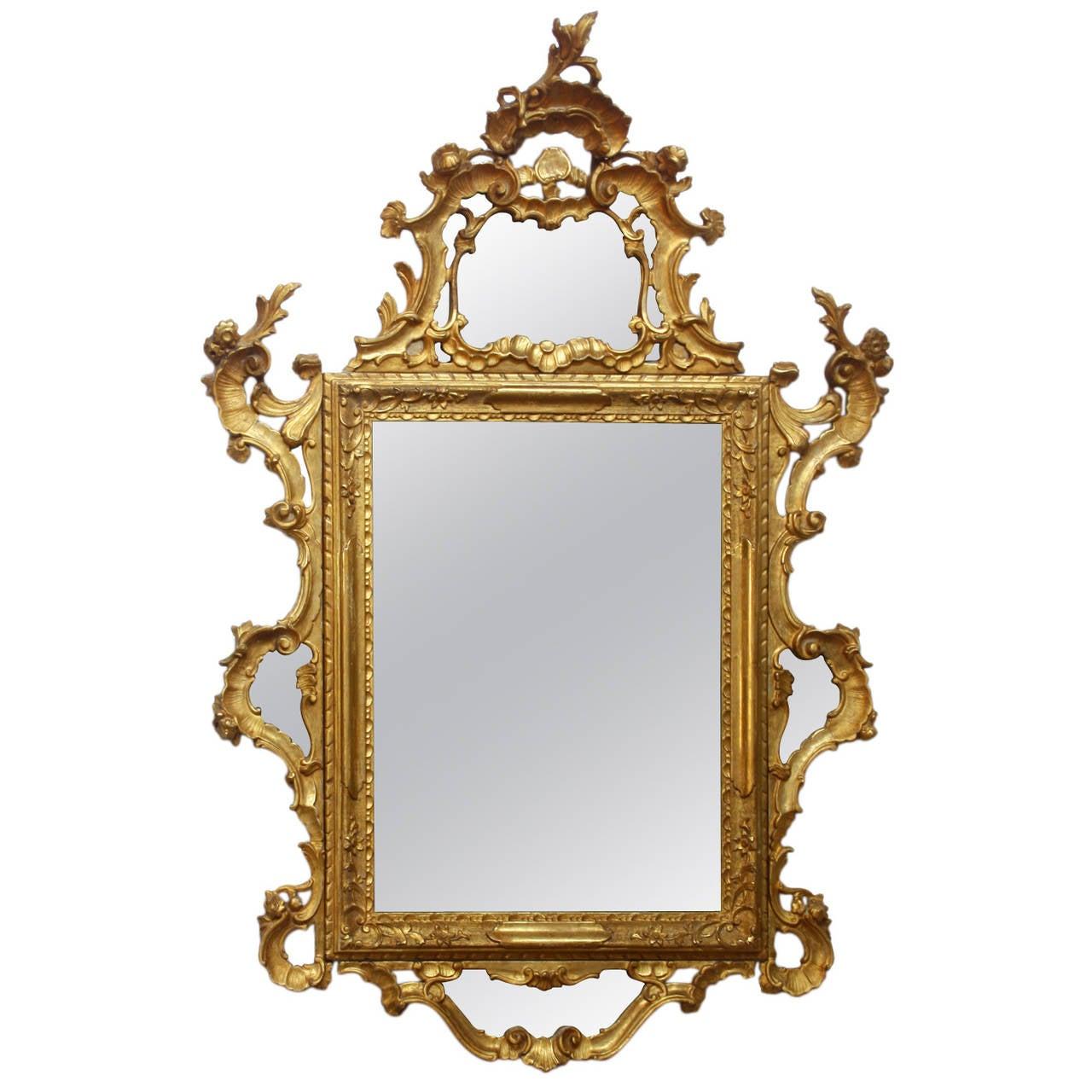 large rococo mirror blogger