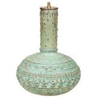 Indian Bronze Vase Lamp at 1stdibs