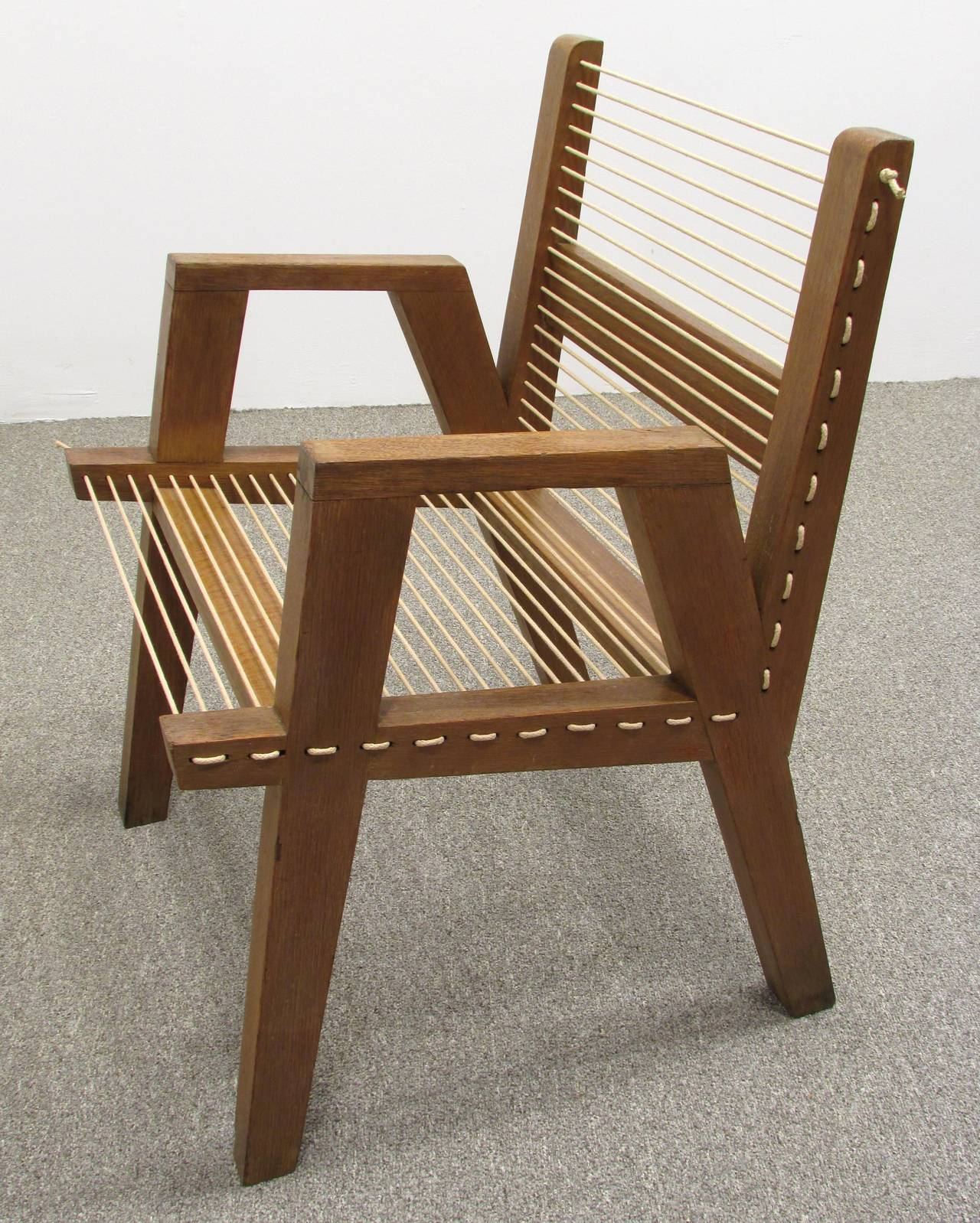 String Chair String Chair From New Bauhaus Chicago At 1stdibs