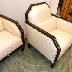 Art Deco Style Club Chairs Parson Chair Covers Target Library Living Room Period