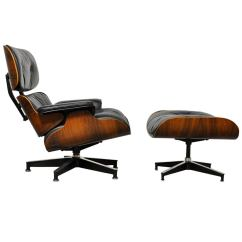 Charles Eames Lounge Chair Rattan Armchair Uk Vintage Rosewood And Ottoman By