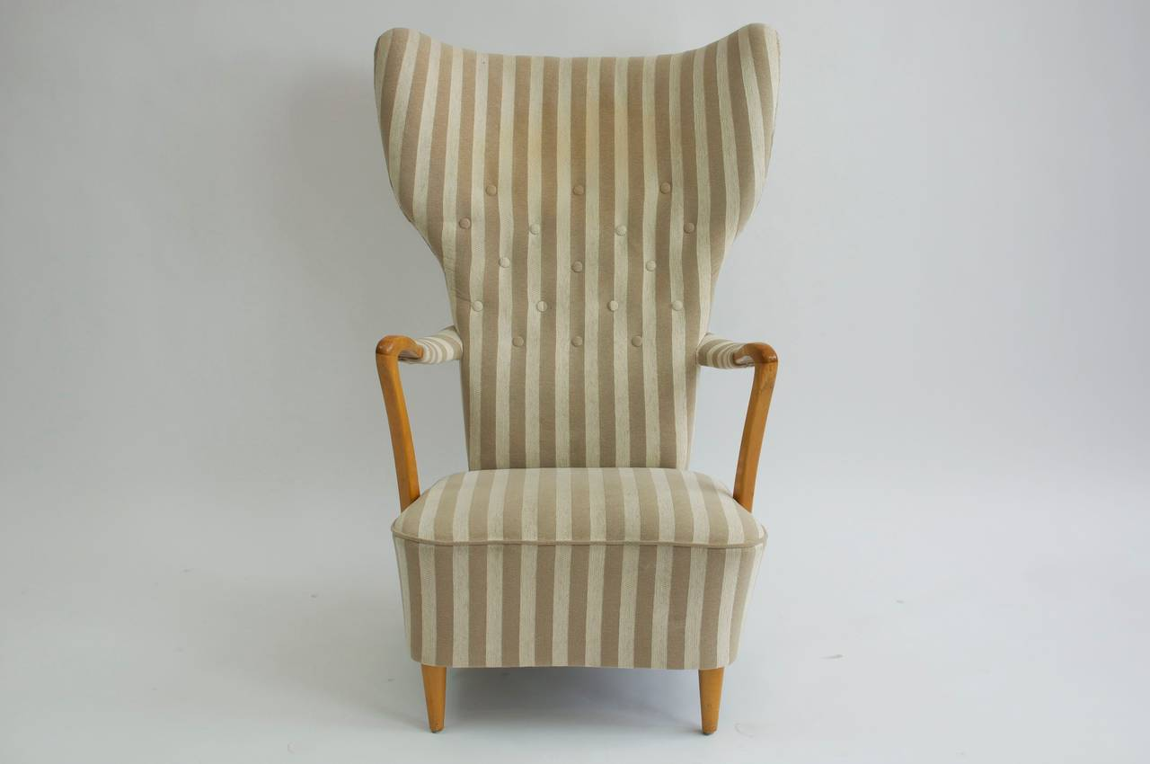swedish high chair hon ignition 2 0 review 1950s back lounge and ottoman at 1stdibs