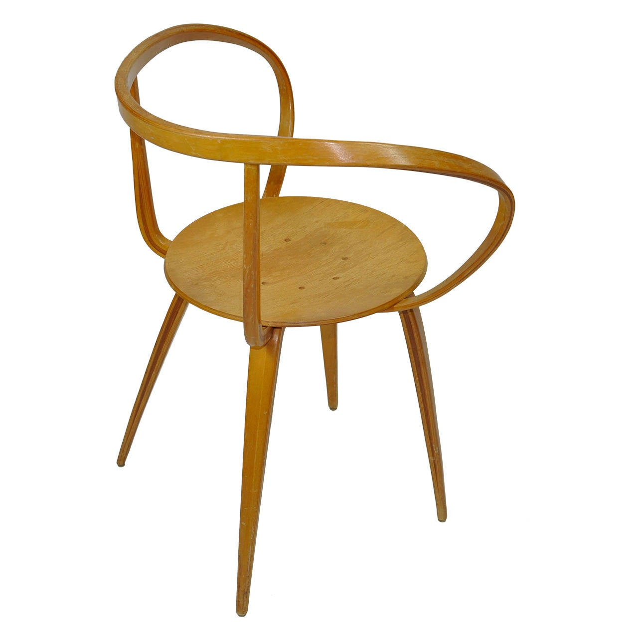 Pretzel Chair George Nelson Pretzel Chair At 1stdibs