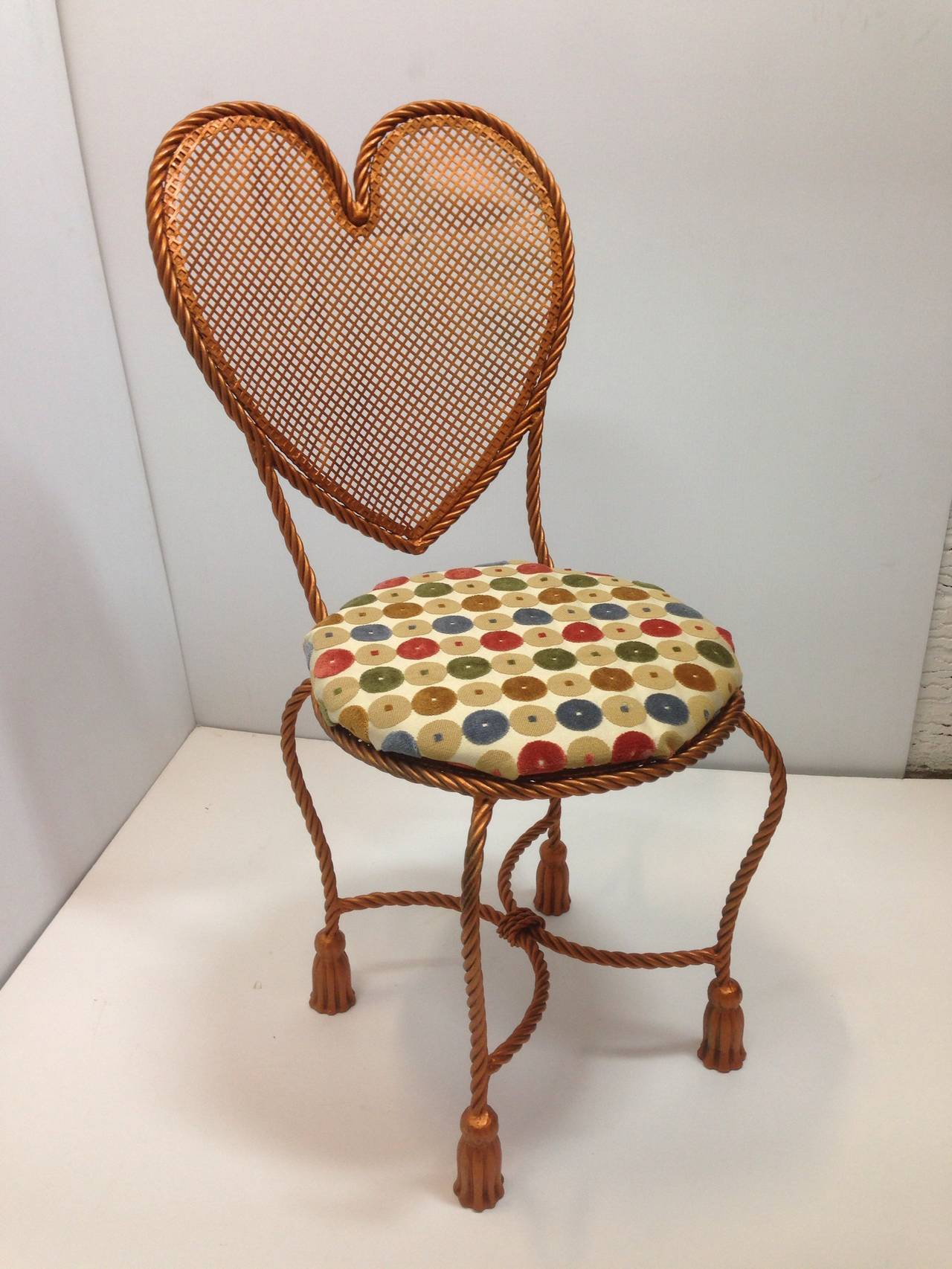 Heart Chair Heart Shaped Rope Chair For Sale At 1stdibs