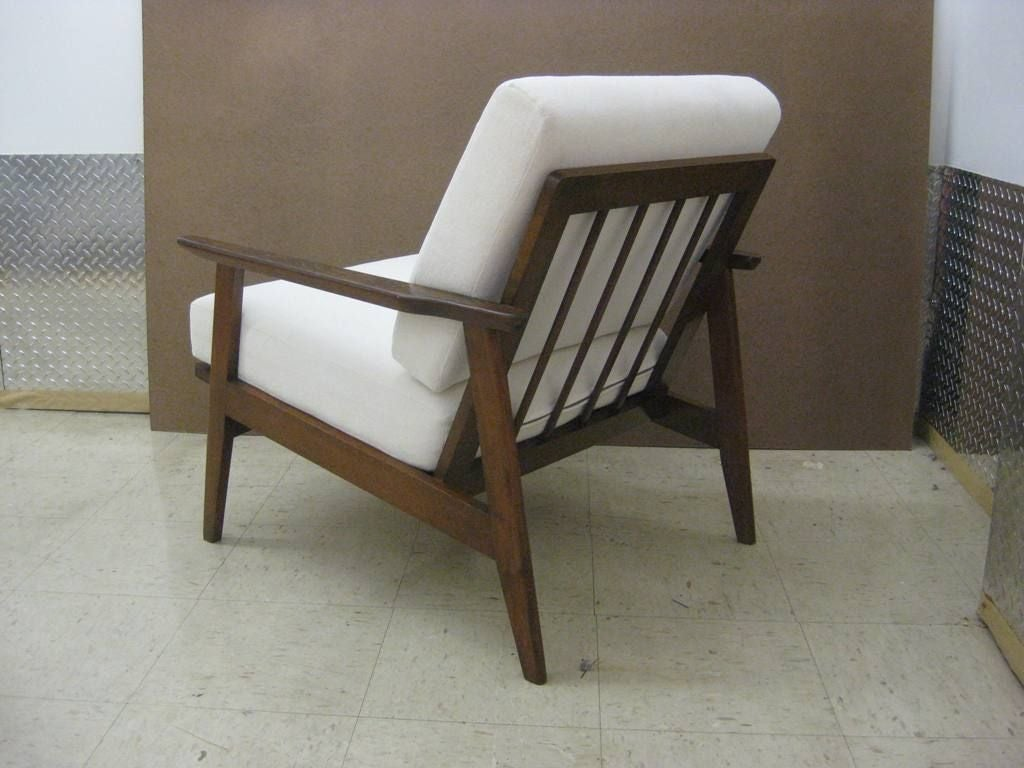 Mid Century Lounge Chair Pair Of Mid Century Modern Danish Lounge Chairs At 1stdibs
