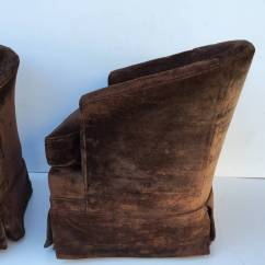 Barrel Chairs Swivel Rocker Antique Chinese Pair Of Petit Rocking For Sale At 1stdibs