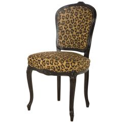 Cheetah Print Folding Chair Cover Sale Canada Vintage Leopard Cafe At 1stdibs