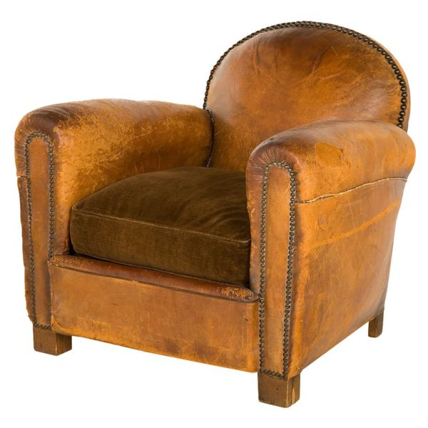 Vintage Leather Club Chair 1stdibs