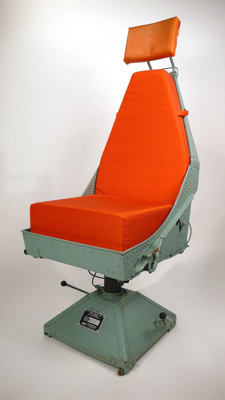 Airplane Chairs from C130 at 1stdibs