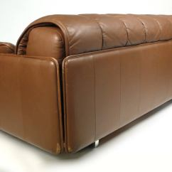 De Sede Sleeper Sofa Slipcovered Convertible Bed By At 1stdibs