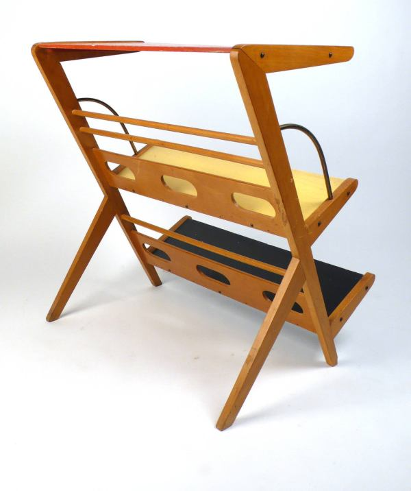 1950s Magazine Rack Holder 1stdibs