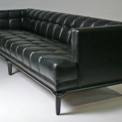 Most Expensive Leather Sofas In The World Ashley Sofa Cushion Cover Replacement Monteverdi Young Black At 1stdibs These Luxurious Biscuit Tufted Created By Maurice Bailey For And Were Some Of