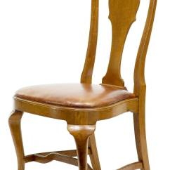 Queen Anne Dining Chair Graco Simple Switch High 19th Century Set Of Eight Influenced