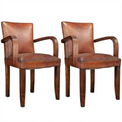 Leather Chairs For Sale Sofa Chair Design Nigeria Pair Of Bridge At 1stdibs