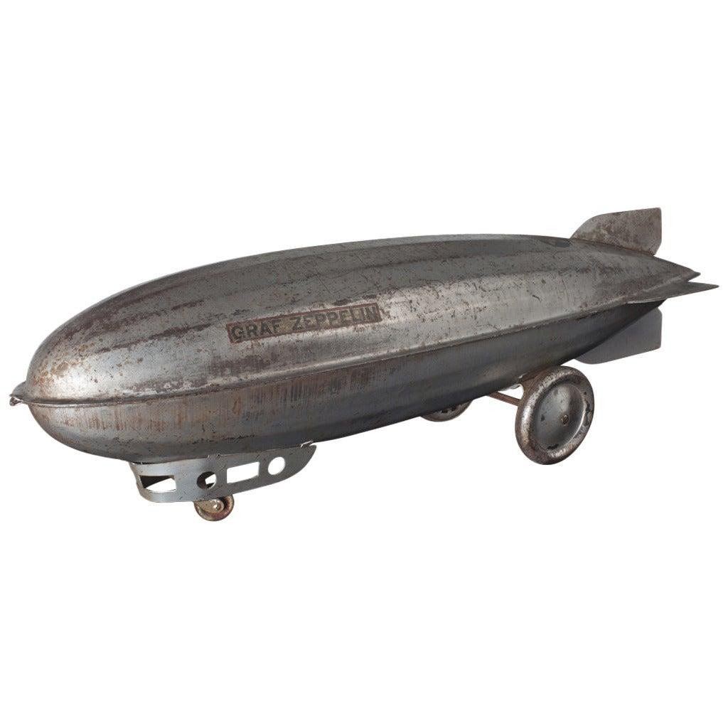 Steel Craft Zeppelin Model At 1stdibs
