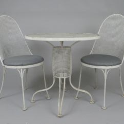 Retro Cafe Table And Chairs Comfy Bedroom Vintage 1950s Sculpture By Russell