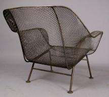 Pair Of Vintage 'sculptura' Garden Lounge Chairs