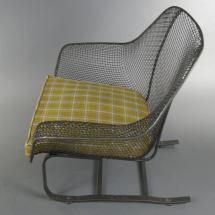 Pair Of 1950' Sculptura Garden Lounge Chairs Woodard