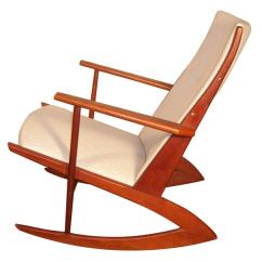 Thonet Chair Styles Small Stool With Wheels Teak Danish Rocking At 1stdibs